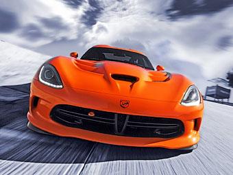 "Суперкар SRT Viper научили ездить по треку быстрее ""Корвета"""