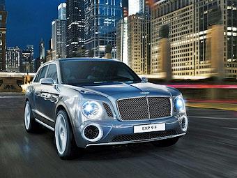 Сборку внедорожника Bentley наладят в Словакии