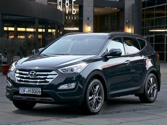 Hyundai Santa Fe обзавелся в России новой базовой версией