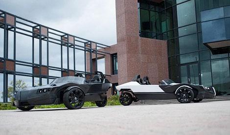 """400-сильный трехколесный автомобиль наберет """"сотню"""" за четыре секунды. Фото 2"""