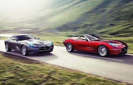 Компания Lyonheart представила современную интерпретацию Jaguar E-Type