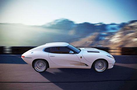 Компания Lyonheart представила современную интерпретацию Jaguar E-Type. Фото 1