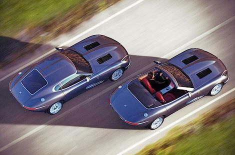 Компания Lyonheart представила современную интерпретацию Jaguar E-Type. Фото 2