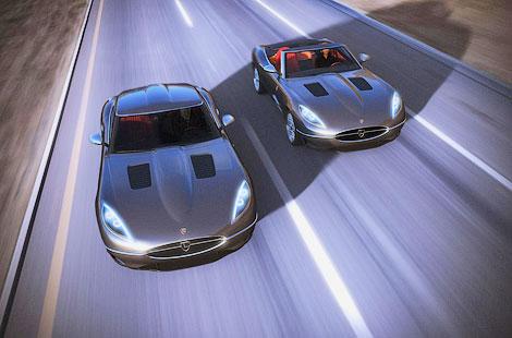 Компания Lyonheart представила современную интерпретацию Jaguar E-Type. Фото 3