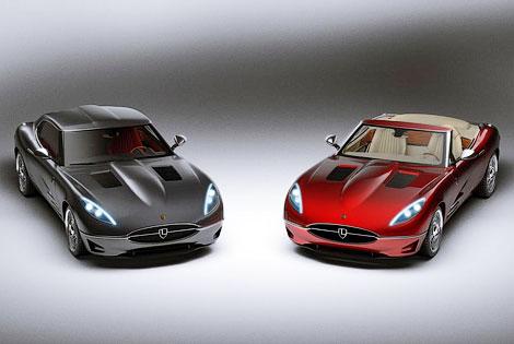 Компания Lyonheart представила современную интерпретацию Jaguar E-Type. Фото 5