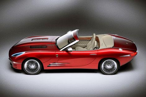 Компания Lyonheart представила современную интерпретацию Jaguar E-Type. Фото 6