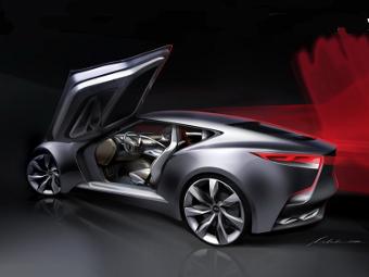 Hyundai покажет предвестника следующего купе Genesis