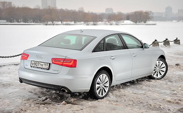 Длительный тест Audi A6 hybrid: часть вторая