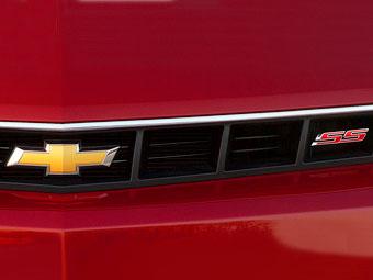 Появилось первое изображение обновленного Chevrolet Camaro
