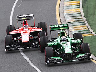 Команды Формулы-1 Marussia и Caterham отказались объединяться