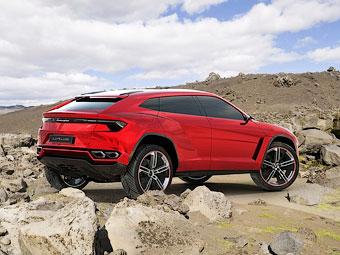 Lamborghini вернулась к идее выпуска внедорожника