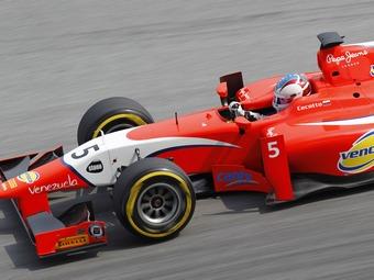 Венесуэльского пилота GP2 дисквалифицировали за выдавливание соперника