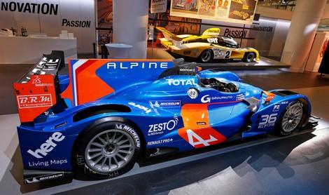 Первый спортпрототип Alpine собственной разработки выйдет на старт в 2016 году. Фото 1