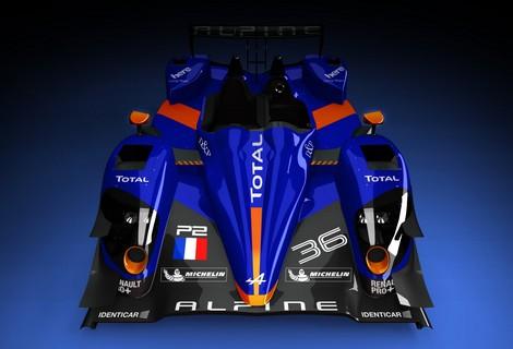 Первый спортпрототип Alpine собственной разработки выйдет на старт в 2016 году. Фото 2