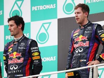 Феттель извинился перед Уэббером за обгон на Гран-при Малайзии