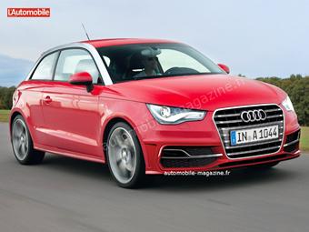 Audi A1 обновится через полтора года