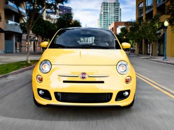 Fiat отказался от расширения гаммы модификаций модели 500
