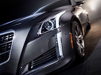 В Сети появились первые фотографии нового Cadillac CTS