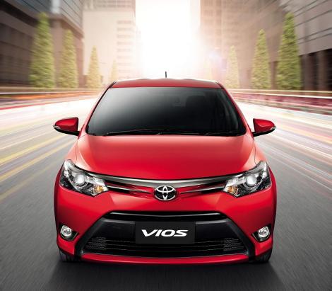 Модель Vios нового поколения будет продаваться в 80 странах