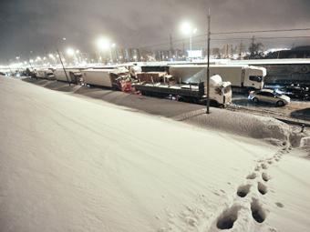 Московские депутаты одобрили высокие штрафы для водителей фур