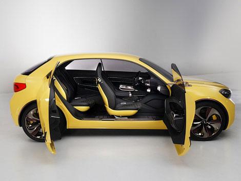 На моторшоу в Сеуле дебютировал 204-сильный прототип Kia Cub