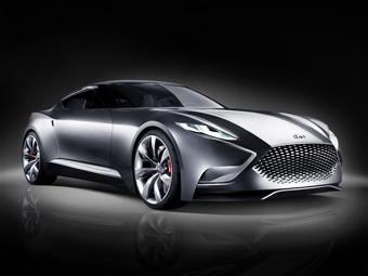 Компания Hyundai рассекретила предвестника нового купе Genesis