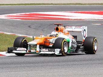 Команда Формулы-1 Force India получила двигатели на 2014 год