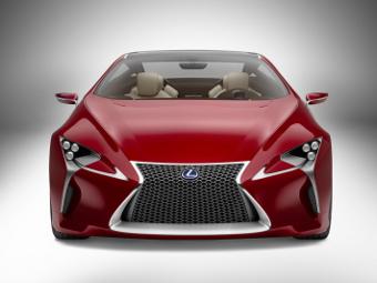Lexus запустит в серию гибридное спорткупе