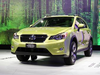 Subaru XV стал самым экономичным полноприводным гибридом Америки