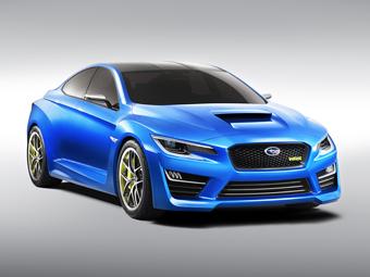 Компания Subaru представила предвестника WRX нового поколения