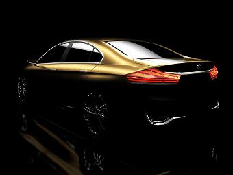 Компания Suzuki показала концептуальный седан
