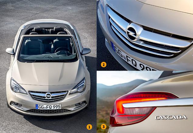 Тест-драйв большого кабриолета Opel Cascada. Фото 4