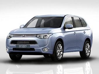 Эко-модели Mitsubishi уличили в самовозгорании