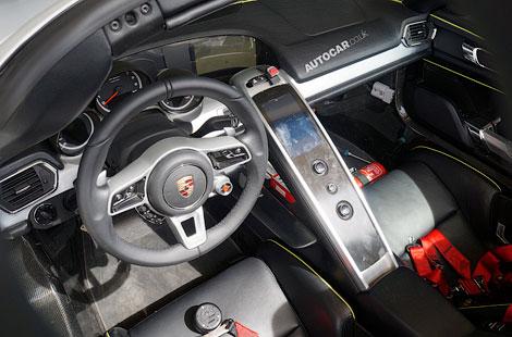 Немцы показали модель 918 Spyder потенциальным покупателям. Фото 1