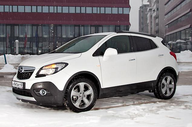 Тестируем Opel Mokka, созданный специально для российского рынка