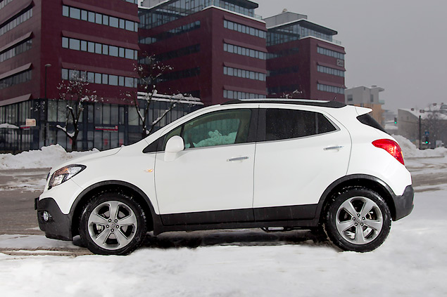 Тестируем Opel Mokka, созданный специально для российского рынка. Фото 1