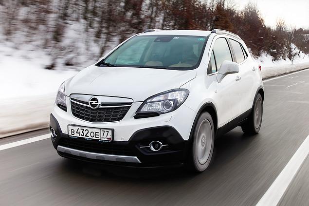 Тестируем Opel Mokka, созданный специально для российского рынка. Фото 5