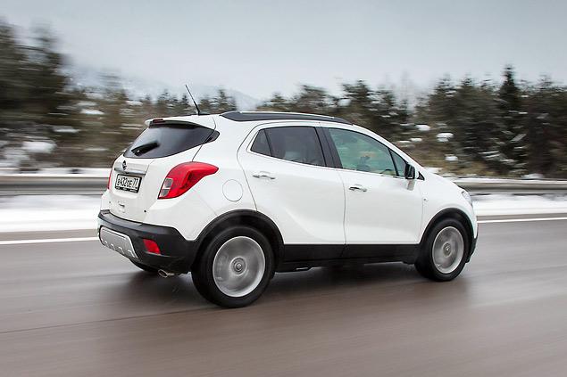 Тестируем Opel Mokka, созданный специально для российского рынка. Фото 6