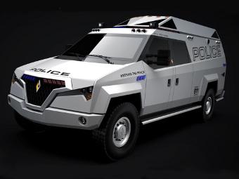 Независимый производитель машин для полиции США прекратит существование
