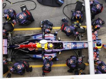 Команда Red Bull побила рекорд McLaren по скорости пит-стопа