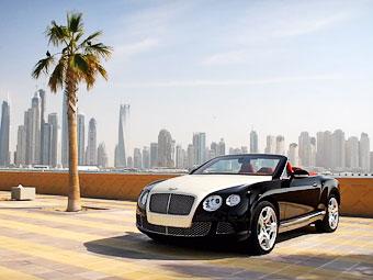 Швейцарцы построили Bentley с бриллиантовым капотом