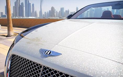 Компания Luxury Refinish оценила капот Bentley в 212 тысяч евро