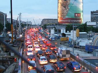 Москву назвали городом с самыми длинными пробками