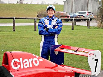 Внук Эмерсона Фиттипальди дебютирует в гонках с открытыми колесами