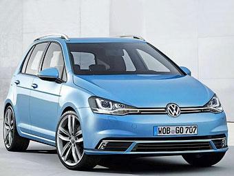 Новый Volkswagen Golf Plus вырастет на 15 сантиметров