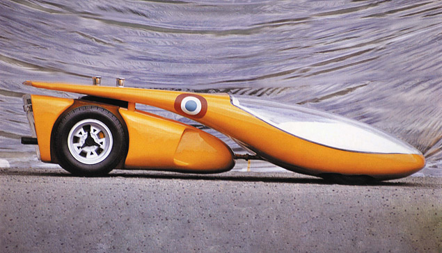 Самые безумные концепт-кары Луиджи Колани. Фото 8