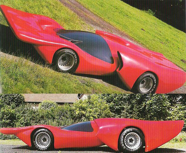 Самые безумные концепт-кары Луиджи Колани. Фото 17