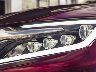 Citroen показал светодиодную фару китайского концепт-кара