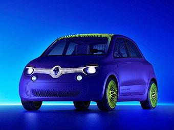 Компания Renault построила городской электрокар