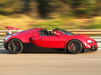 Bugatti привезет в Шанхай самый быстрый в мире родстер